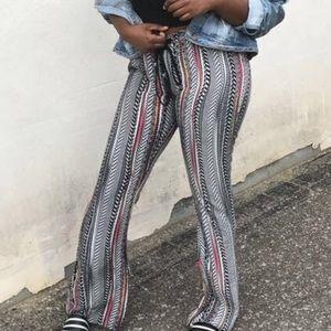Pants - Tribal Print Pants